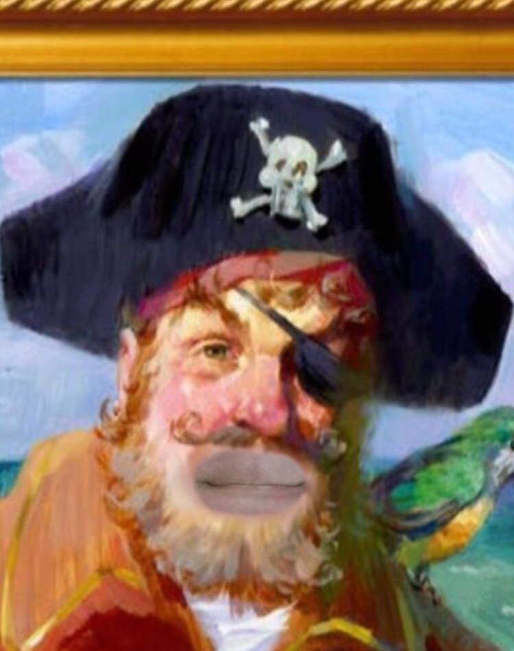 Painty the Pirate (Spongebob) Snapchat Lens & Filter