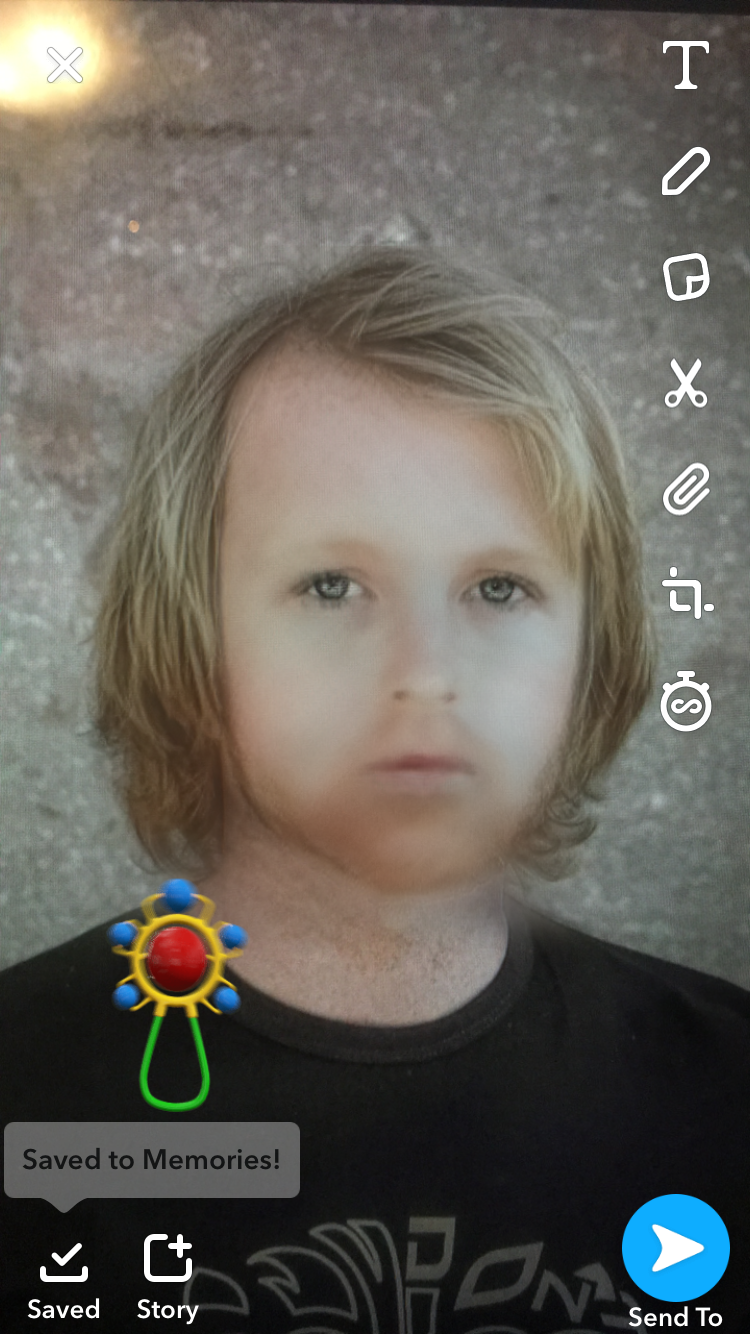 Baby Face Transformation Instagram Filter - Child, Kid
