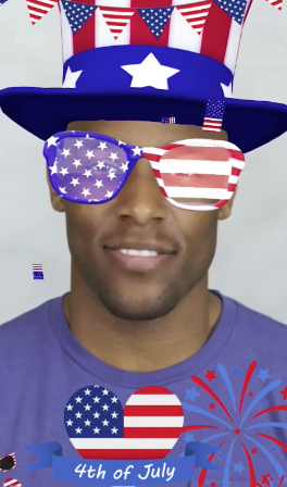 Best 4th of July Snapchat Lenses & Filters for 2019 - Top 11 Snap Codes